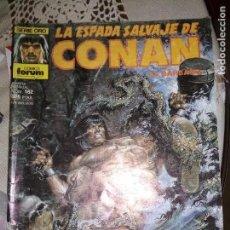 Cómics: LA ESPADA SALVAJE DE CONAN 162 FORUM NO PANINI ENVIO ECONÓMICO. Lote 128749959