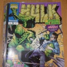 Cómics: HULK VOLUMEN 4 DE JOHN BYRNE COMPLETA 12 COMICS FORUM. Lote 128808719