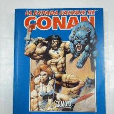 Cómics: LA ESPADA SALVAJE DE CONAN - VOLUMEN III - TOMO 3 - DEL Nº 9 AL 11 - FORUM - AÑO 1998. TDKC6. Lote 128972255