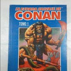 Cómics: LA ESPADA SALVAJE DE CONAN - VOLUMEN III - TOMO 1 - DEL Nº 1 AL 4 - FORUM - AÑO 1998. TDKC6. Lote 128972391