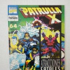 Cómics: LA PATRULLA X Nº 143. ESPECIAL ATRACCIONES FATALES, POR LOBDELL, ROMITA JR. SPROUSE, PETERSON, SMITH. Lote 129010559