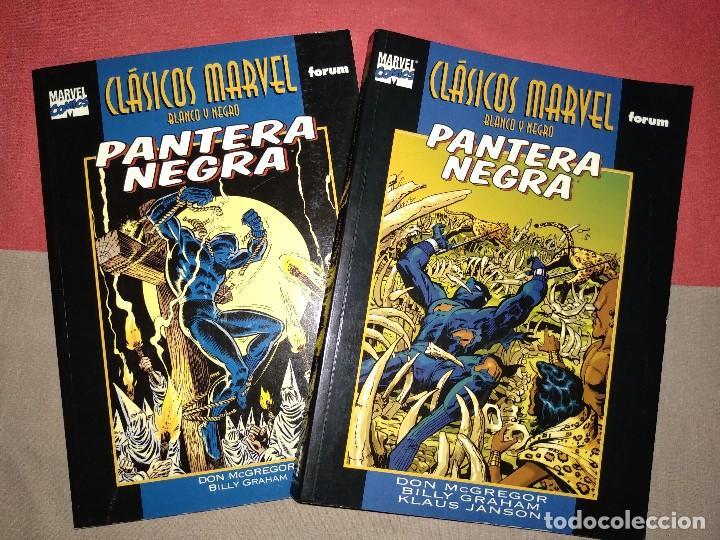 CLASICOS B/N PANTERA NEGRA (Tebeos y Comics - Forum - Prestiges y Tomos)