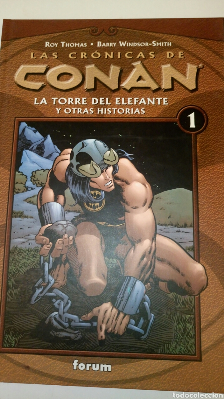 LAS CRÓNICAS DE CONAN, LA TORRE DEL ELEFANTE Y OTRAS HISTORIAS. (Tebeos y Comics - Forum - Conan)