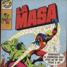 Cómics: COMIC LA MASA, EL INCREIBLE HULK, Nº 16 - BRUGUERA. Lote 129191463