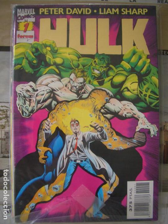 HULK #1-19 (FORUM, 1996-1997) (Tebeos y Comics - Forum - Hulk)