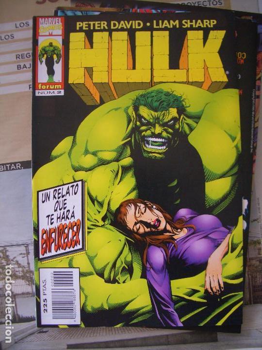 Cómics: HULK #1-19 (FORUM, 1996-1997) - Foto 2 - 129213067