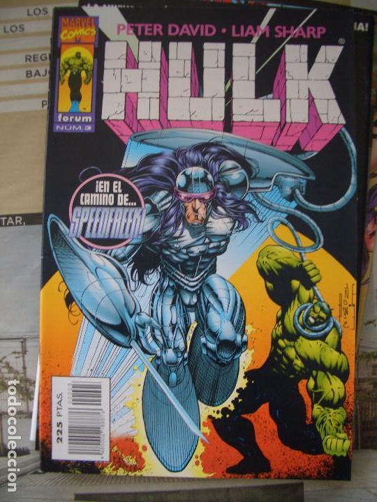 Cómics: HULK #1-19 (FORUM, 1996-1997) - Foto 3 - 129213067