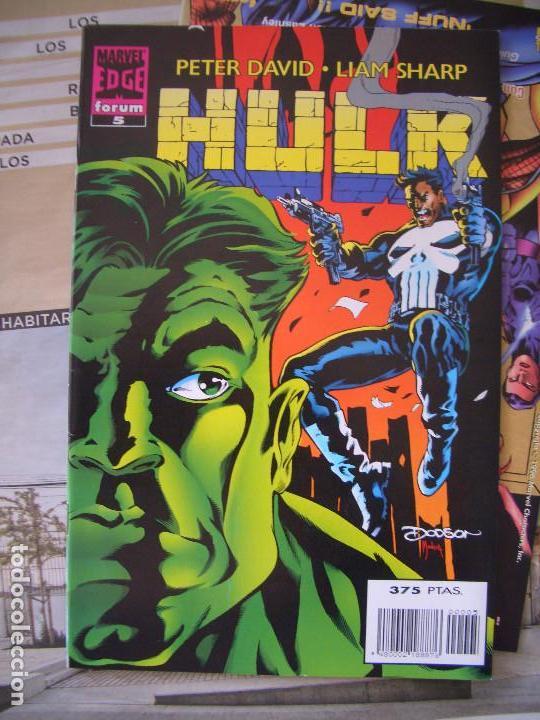 Cómics: HULK #1-19 (FORUM, 1996-1997) - Foto 5 - 129213067