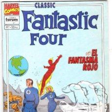 Comics : LOS 4 FANTASTICOS - CLASSIC FANTASTIC FOUR Nº 7. Lote 230314970