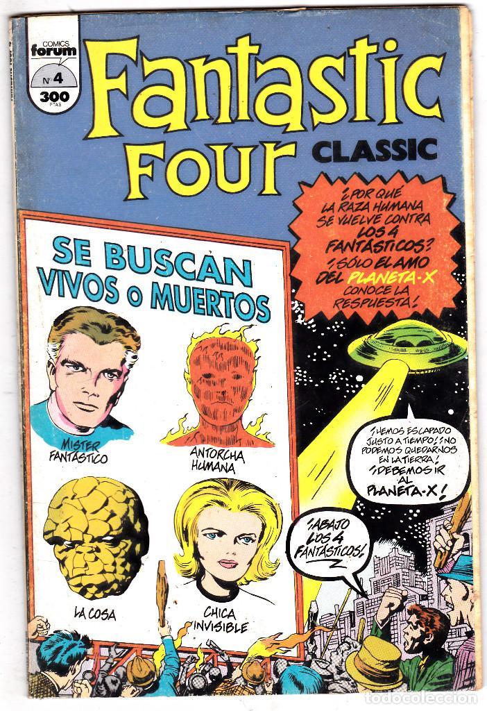 LOS 4 FANTASTICOS - CLASSIC FANTASTIC FOUR Nº 4 (Tebeos y Comics - Forum - 4 Fantásticos)