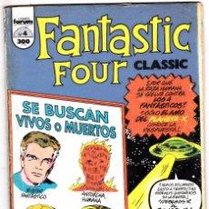 Comics : LOS 4 FANTASTICOS - CLASSIC FANTASTIC FOUR Nº 4. Lote 129274651