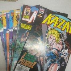 Cómics: KAZAR KA-ZAR - FORUM - NUMEROS 1 AL 10. Lote 129282587