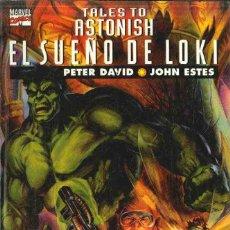 Cómics: TALES TO ASTONISH. EL SUEÑO DE LOKI.. Lote 129315671