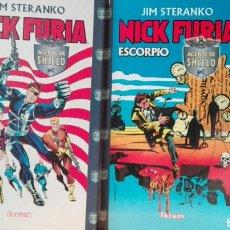 Cómics: NICK FURIA DE JIM STERANKO (AGENTE DE SHIELD Y ESCORPIO) FORUM. Lote 129319908