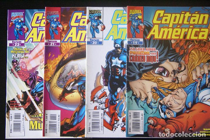 CAPITÁN AMÉRICA VOLUMEN 4, NºS 19/22 (19, 20, 21 Y 22). FORUM. 1998. /VOL IV (Tebeos y Comics - Forum - Capitán América)