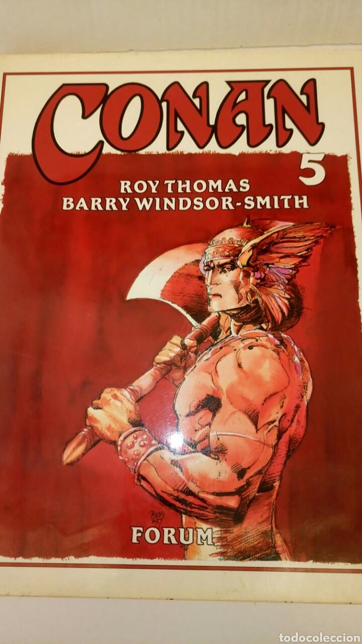 CONAN, VOL. 5, BARRY WINDSOR-SMITH Y ROY THOMAS. (Tebeos y Comics - Forum - Conan)