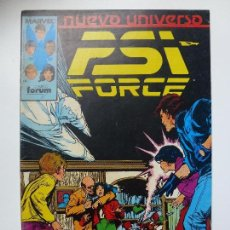 Cómics: NUEVO UNIVERSO. PSI FORCE. Nº 12.. Lote 129353875