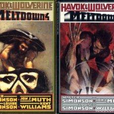 Cómics: MELTOOWN WOLVERINE SIMONSON PREMIO HAXTUR- MUT COMPLETA 4 NºS 1988 CAJA 26 +. Lote 129679451