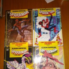 Cómics: SPIDERMAN ALBUM ESPECIAL COMPLETA ESPECIALES DE FORUM DE 1987 1988 1989 Y 1990 FORUM. Lote 129866227