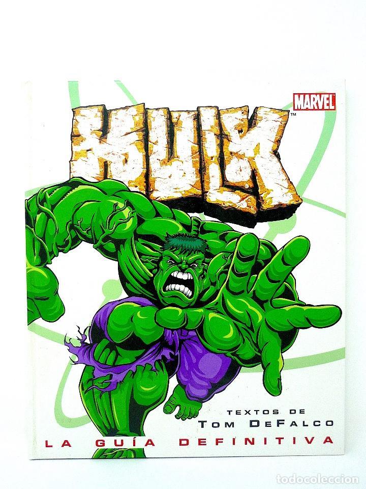HULK LA GUIA DEFINITIVA TOM DE FALCO EDICIONES B 2003 (Tebeos y Comics - Forum - Hulk)