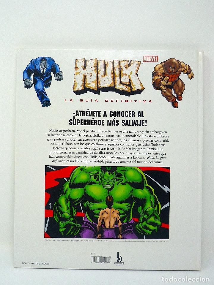 Cómics: HULK LA GUIA DEFINITIVA TOM DE FALCO EDICIONES B 2003 - Foto 2 - 129972887