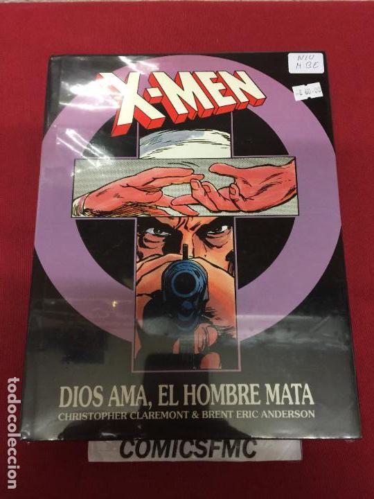 X-MEN DIOS AMA EL HOMBRE MATA EDICION ESPECIAL NUMERADA MUY BUEN ESTADO (Tebeos y Comics - Forum - Prestiges y Tomos)