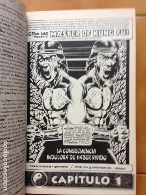 Cómics: TESOROS MARVEL ESPECIAL B/N SHANG-CHI MASTER OF KUNG-FU POR DOUGH MOENCH Y GENE DAY - FORUM - Foto 2 - 130132883