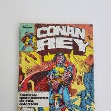Cómics: CONAN REY, Nº 51,52,53,54 Y 55 EN TOMO, FORUM, AÑO 1988,BUEN ESTADO,TODOS CONSERVAN SUS CUBIERTAS. Lote 130185591