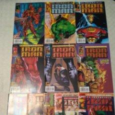 Cómics: IRON MAN HEROES REBORN #1-11 - LOBDELL, LEE, PORTACIO. Lote 130263756