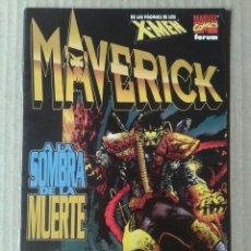 Cómics: MAVERICK: A LA SOMBRA DE LA MUERTE (DE LAS PÁGINAS DE LOS X-MEN). COMICS FORUM 1998. HAMA Y SANTIAGO. Lote 130328092