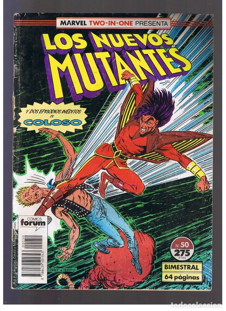COMIC FORUM - LOS NUEVOS MUTANTES Nº 50 (Tebeos y Comics - Forum - Nuevos Mutantes)