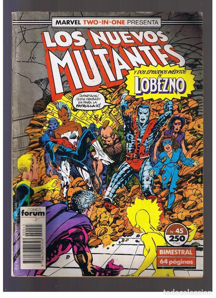 COMIC FORUM - LOS NUEVOS MUTANTES Nº 45 (Tebeos y Comics - Forum - Nuevos Mutantes)