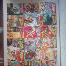 Cómics: LOTE 20 NUMEROS DE LOS NUEVOS MUTANTES.FORUM.1988.MUY NUEVOS!!. Lote 130502394