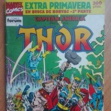 Cómics: THOR EXTRA PRIMAVERA 1992 FORUM. Lote 130512454