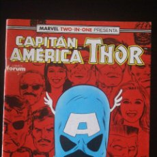 Cómics: CAPITÁN AMÉRICA/THOR VOLUMEN 1, Nº 71. FORUM. /VOL I/MARVEL TWO IN ONE. Lote 130544738