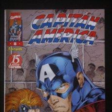Cómics: CAPITÁN AMÉRICA VOLUMEN 3/4, HÉROES REBORN, Nº 8. FORUM.1998. /VOL. Lote 130546822