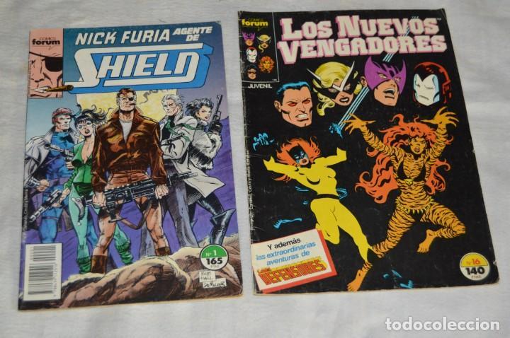 Cómics: LOTE DE 9 TEBEOS / COMICS - VENGADORES, C. AMERICA, NICK FURIA SHIELD - COMICS FORUM - ENVÍO 24H - Foto 4 - 130554378