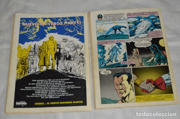 Cómics: LOTE DE 9 TEBEOS / COMICS - VENGADORES, C. AMERICA, NICK FURIA SHIELD - COMICS FORUM - ENVÍO 24H - Foto 7 - 130554378