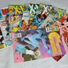 Cómics: LOTE DE 9 TEBEOS / COMICS - XMEN - LOBEZNO - IRON MAN - MARVEL COMICS - COMICS FORUM - ENVÍO 24H. Lote 130554542