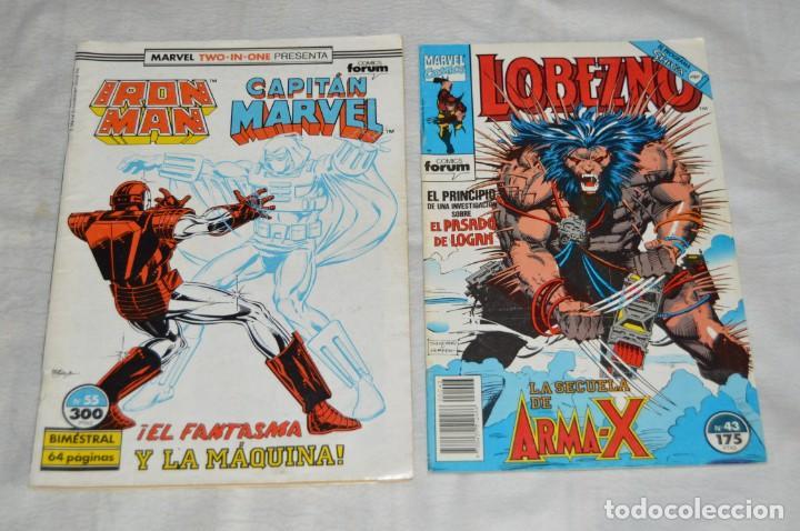 Cómics: LOTE DE 9 TEBEOS / COMICS - XMEN - LOBEZNO - IRON MAN - MARVEL COMICS - COMICS FORUM - ENVÍO 24H - Foto 2 - 130554542