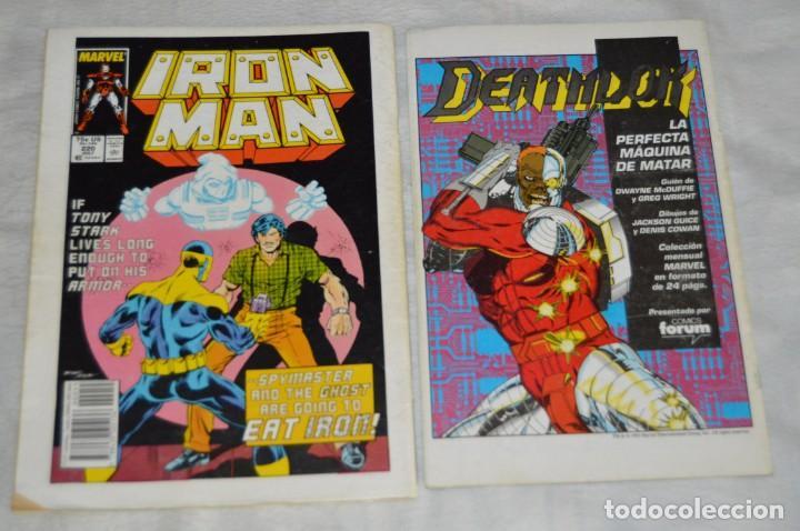 Cómics: LOTE DE 9 TEBEOS / COMICS - XMEN - LOBEZNO - IRON MAN - MARVEL COMICS - COMICS FORUM - ENVÍO 24H - Foto 3 - 130554542