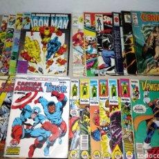 Cómics: LOTE COMICS FORUM LO VENGADORES CAPITÁN AMÉRICA IRON MAN SPIDERMAN CONAN LOS 4 FANTÁSTICOS LA COSA. Lote 130628607