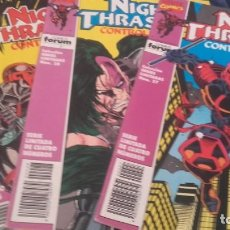 Cómics: NIGHT TRASHER CONTROL TOTAL SERIES LIMITADAS 4 NÚMEROS - NEW WARRIORS. Lote 130678964