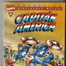 Cómics: BIBLIOTECA MARVEL - CAPITAN AMERICA Nº 11 - FORUM - EXCELENTE -. Lote 130685364
