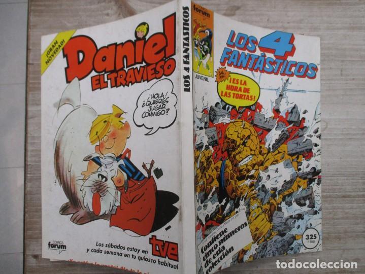 TOMO LOS 4 FANTASTICOS 5 EJEMPLARES DEL 46 AL 50 AMBOS INCLUIDOS EDICIONES FORUM (Tebeos y Comics - Forum - Retapados)