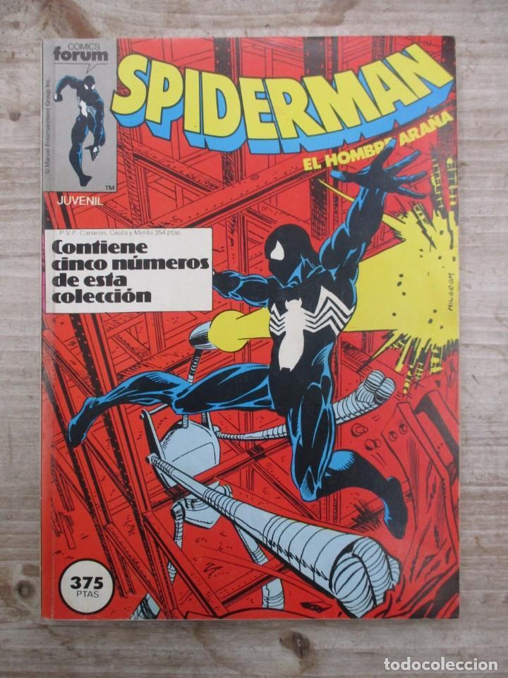 TOMO SPIDERMAN 5 EJEMPLARES DEL 151 AL 155 AMBOS INCLUIDOS EDICIONES FORUM (Tebeos y Comics - Forum - Retapados)