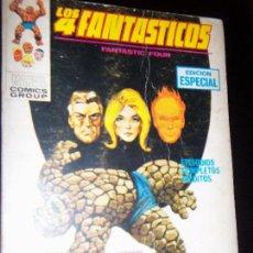 Cómics: LOS 4 FANTASTICOS LIBRO COMICS- MUNDI COMICS- ESPAÑA 1973. Lote 130742074