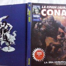 Comics : TEBEOS Y COMICS: LA ESPADA SALVAJE DE CONAN Nº 6. SERIE ORO. TAPA DURA (ABLN). Lote 130772564