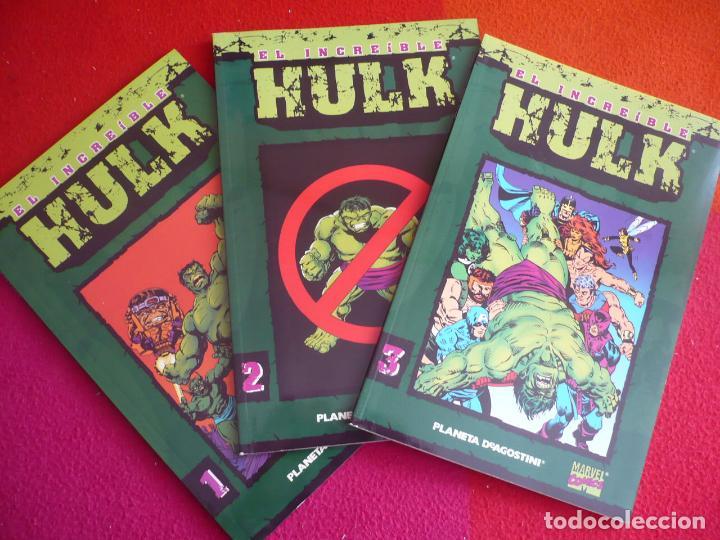 EL INCREIBLE HULK 1, 2 Y 3 COLECCIONABLE ( PETER DAVID ) ¡MUY BUEN ESTADO! FORUM MARVEL (Tebeos y Comics - Forum - Hulk)