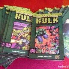 Cómics: EL INCREIBLE HULK 1 AL 50 ¡COMPLETA! COLECCIONABLE ( PETER DAVID ) ¡MUY BUEN ESTADO! FORUM MARVEL. Lote 130899352